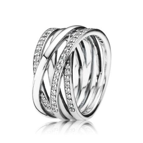 Кольцо «Переплеты обруча»