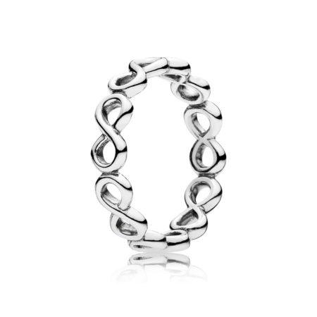 """Кольцо из серебра """"Бесконечность"""""""