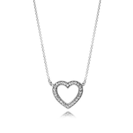 """Подвеска из серебра """"Любящее сердце PANDORA"""""""