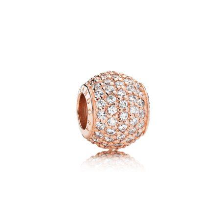 Бусина «Pave» Pandora Rose