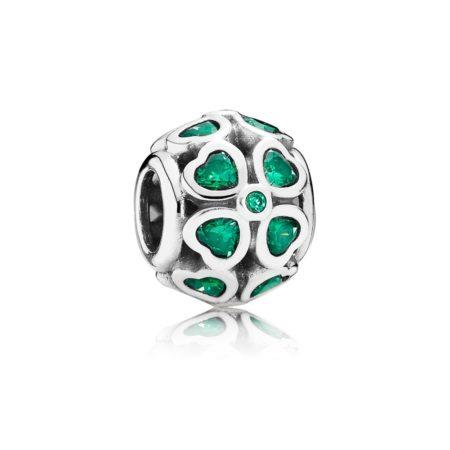 Шарм «Зеленый клевер на удачу»