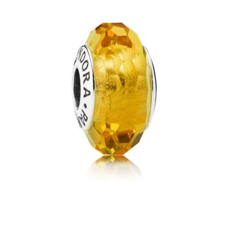 Шарм «Мурано желтого цвета»