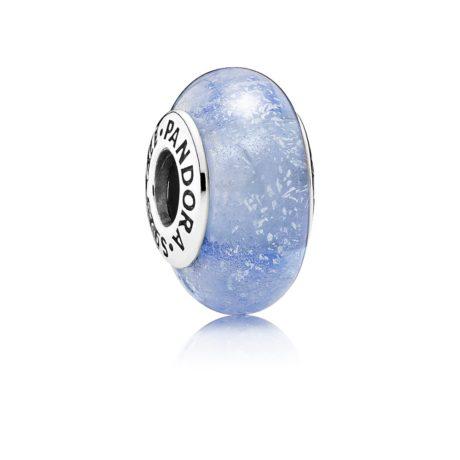 Шарм «Мурано с синим флуоресцентом»