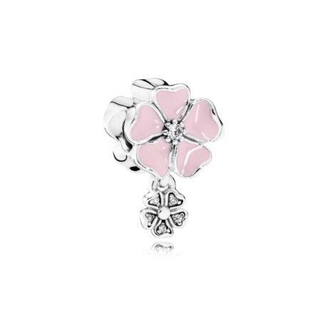 Подвеска-шарм из серебра «Цветочное настроение»
