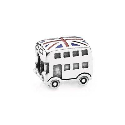 """Подвеска-шарм """"Автобус с британским флагом"""""""