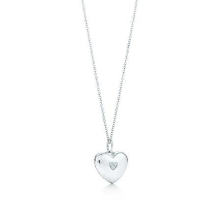 Подвеска-медальон в форме сердца