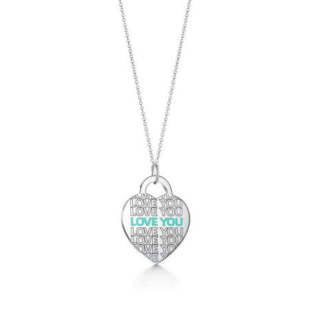 "Подвеска-шарм в форме сердца ""Love You"" Return to Tiffany™"