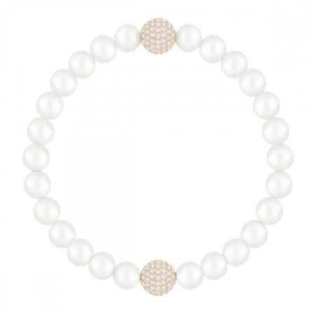 БРАСЛЕТ REMIX COLLECTION WHITE CRYSTAL PEARL