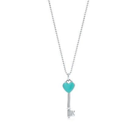 Подвеска-ключ с сердцем Tiffany Keys