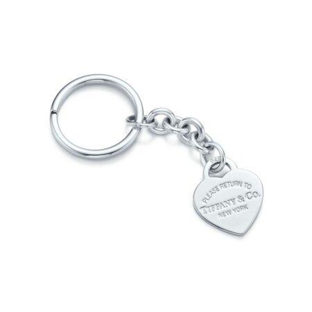 Кольцо для ключей с подвеской в форме сердца Return to Tiffany